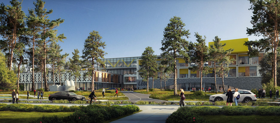 "Lego unveils plans for ""informal and inspirational"" office campus by CF Møller in Billund"