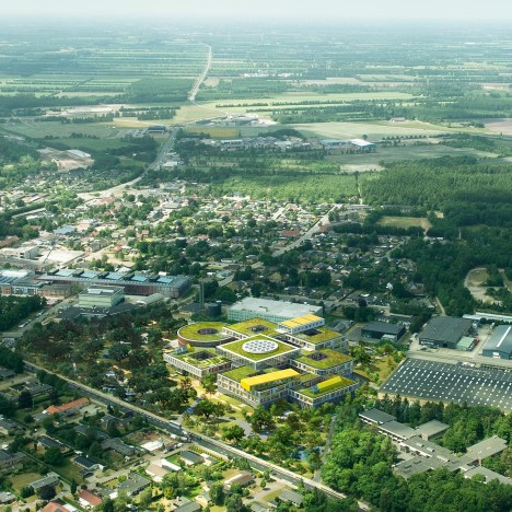 "Lego unveils plans for ""informal and inspirational"" office campus by CF Møller"