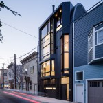 Stephen Phillips clads modern San Francisco townhouse in black zinc