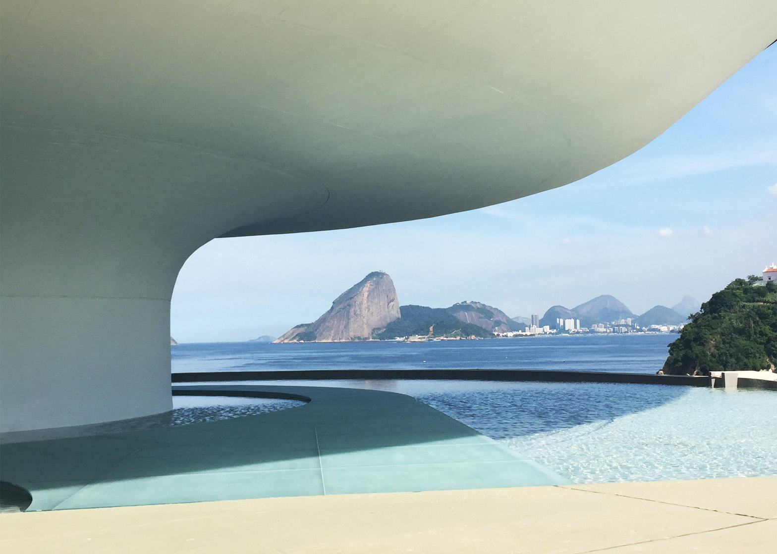 Es Devlin creates Louis Vuitton cruise collection catwalk in Rio de Janeiro, Brazil