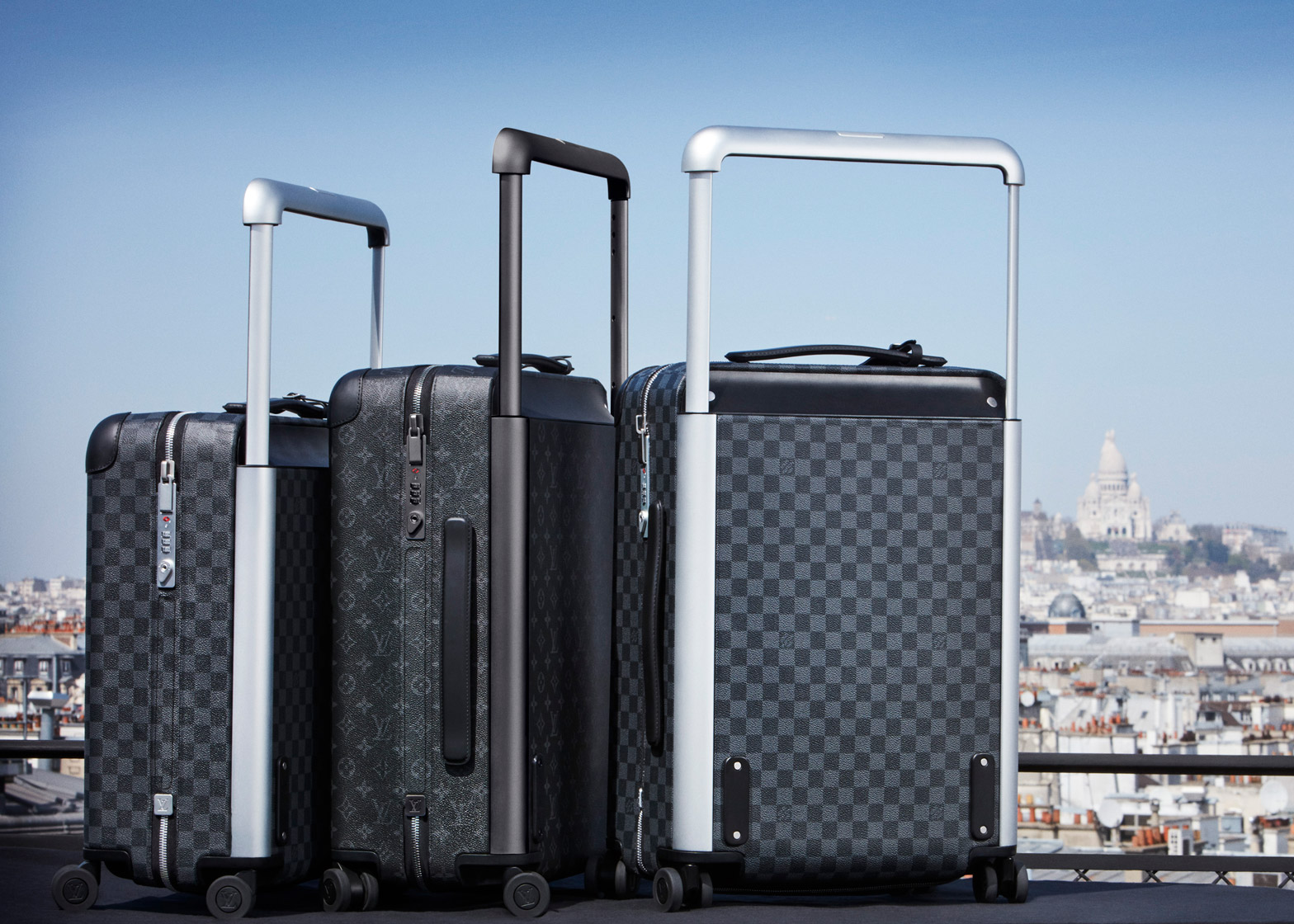 Marc Newson reinvents classic Louis Vuitton rolling luggage