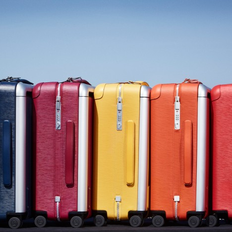Marc Newson revamps Louis Vuitton luggage in bright colours