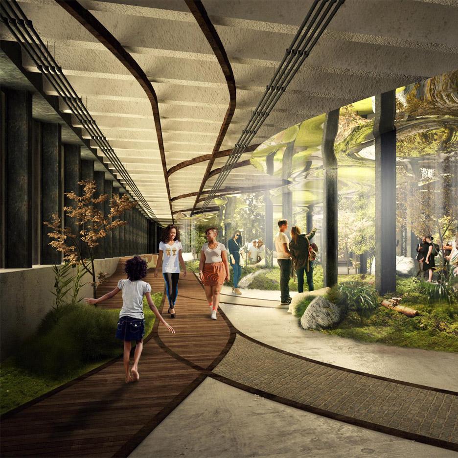 The Lowline underground park