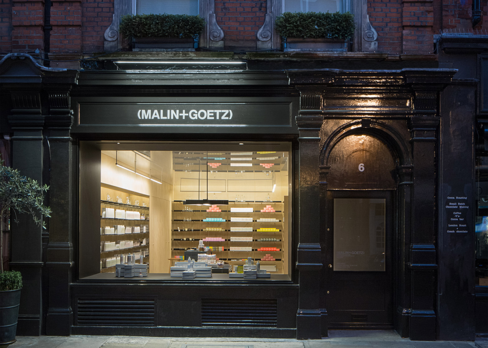 Jonathan Tuckey designs Malin and Goetz interiors in London