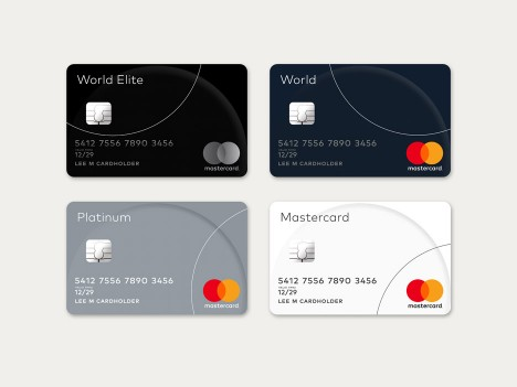 Mastercard Logo redesign by Pentagram