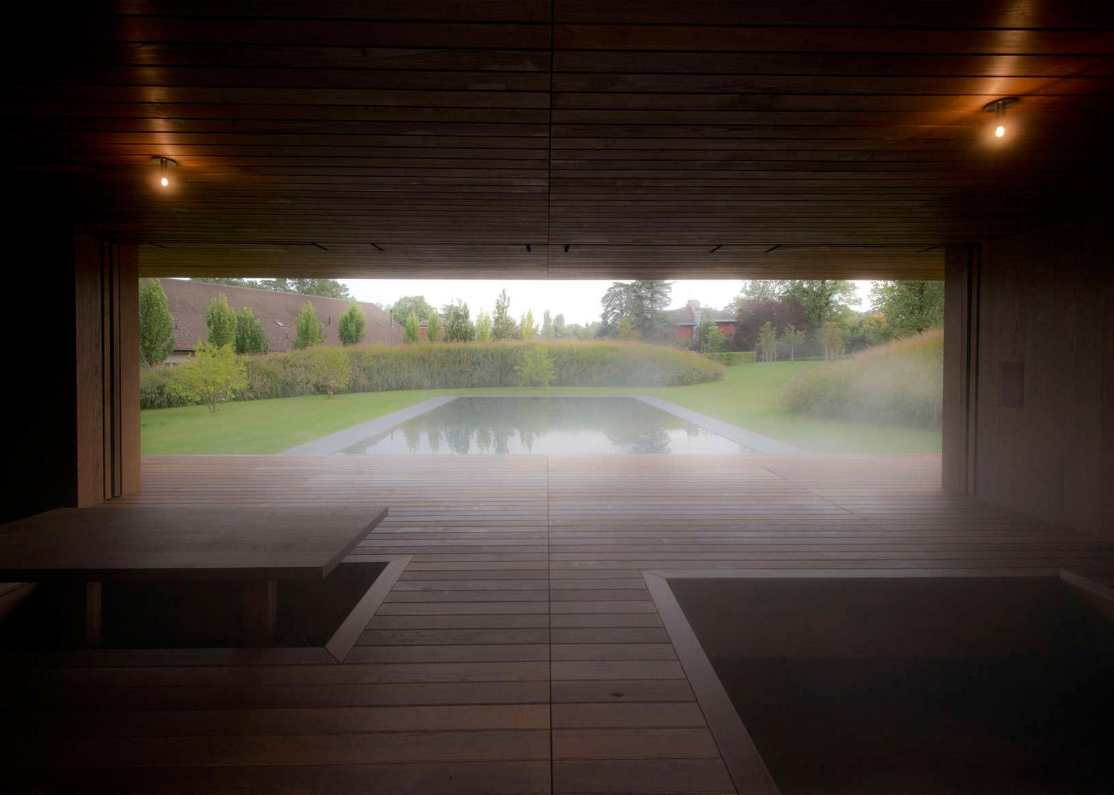 Meditation Pavilion and Garden in Geneva by GM Architectes Associes