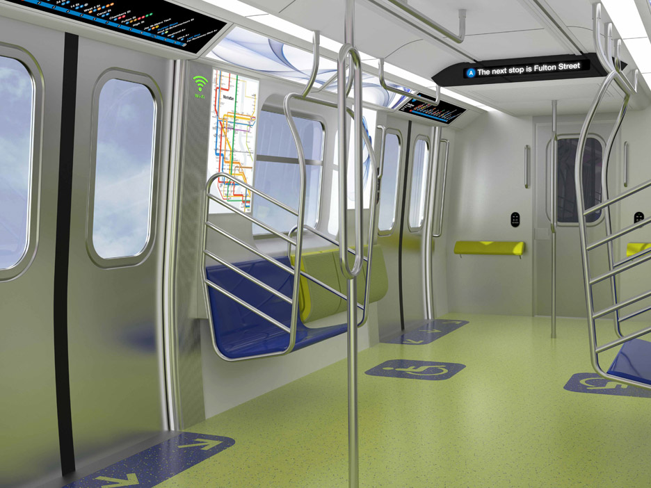 MTA Planned Improvements to New York's subway cars