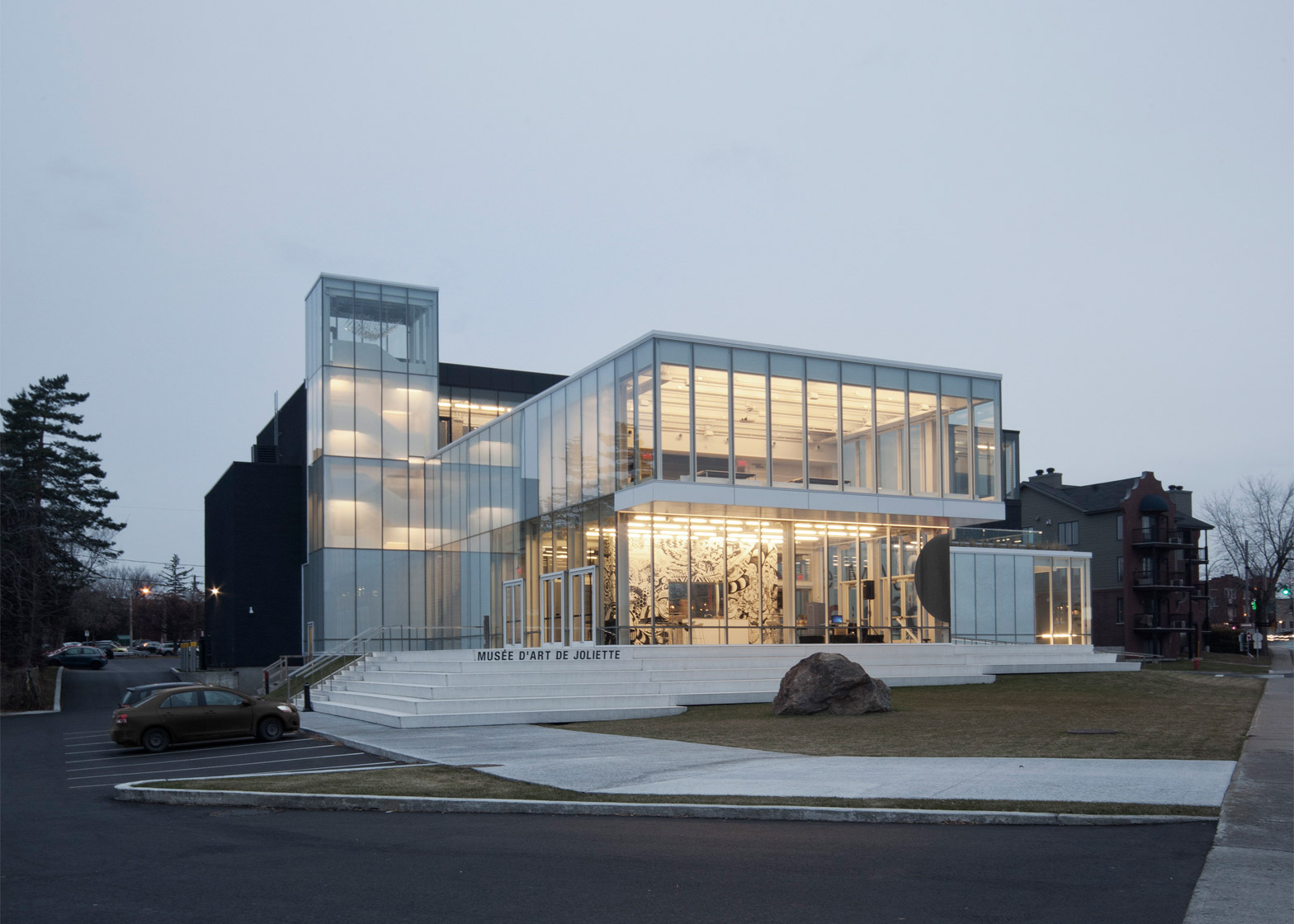 Musee d'art de Joliette by FABG Architectes