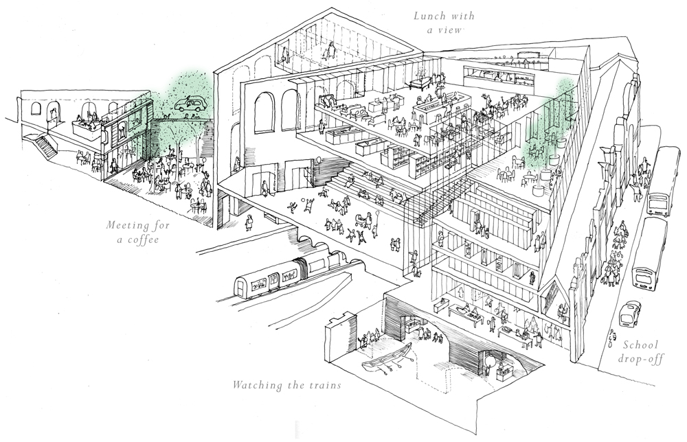 museum-of-london-stanton-williams-asif-khan-winners-competition-west-smithfield-dome-underground_dezeen_diagram2