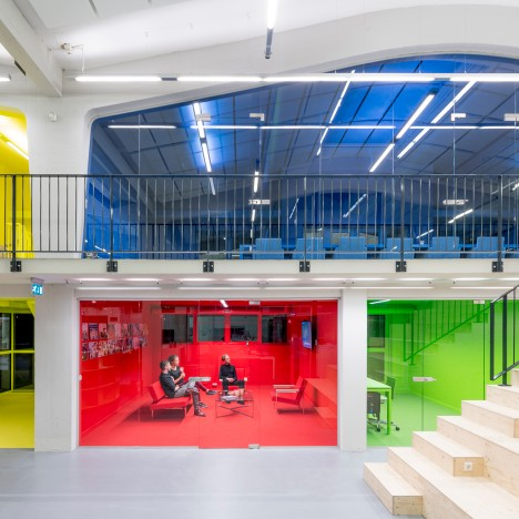 MVRDV creates home-inspired rooms for its new Rotterdam office