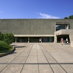 Le Corbusier's National Museum of Western Art is his only building in the Far East
