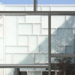 Albanian photography museum by Casanova + Hernandez features gridded glass walls