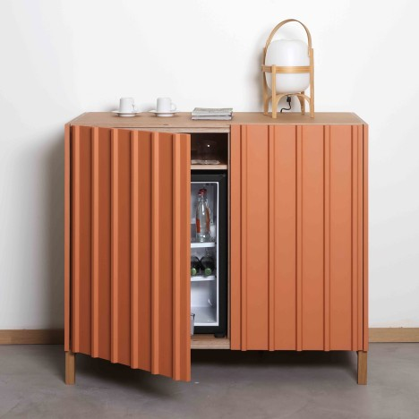 Papila overhauls hotel drinks cabinets with Nature collection