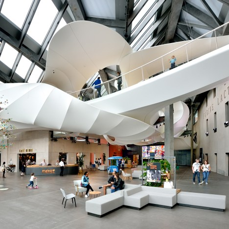 Nestlé's first factory transformed into interactive exhibition space