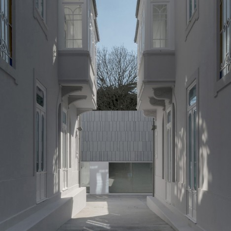 Portuguese Architectural Association takes over two revamped townhouses