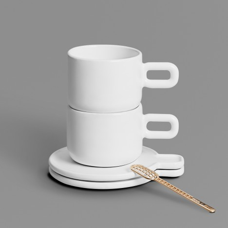 Othr adds 3D-printed Grid cup and saucer to its expanding collection