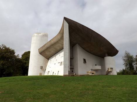 Chapelle Notre Dame du Haut in Ronchamp is one of Le Corbusier's most iconic buildings