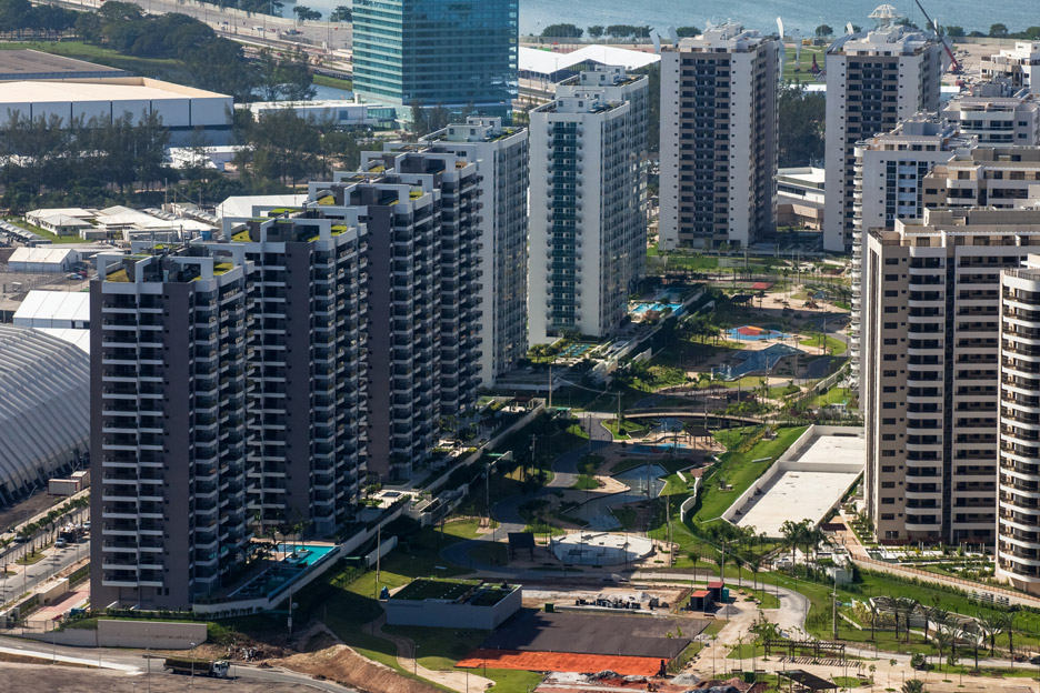 The athlete's village for the Rio 2016 Olympics