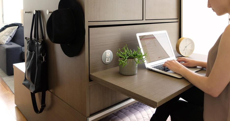 MIT\'s Ori robotic furniture reconfigures tiny apartments