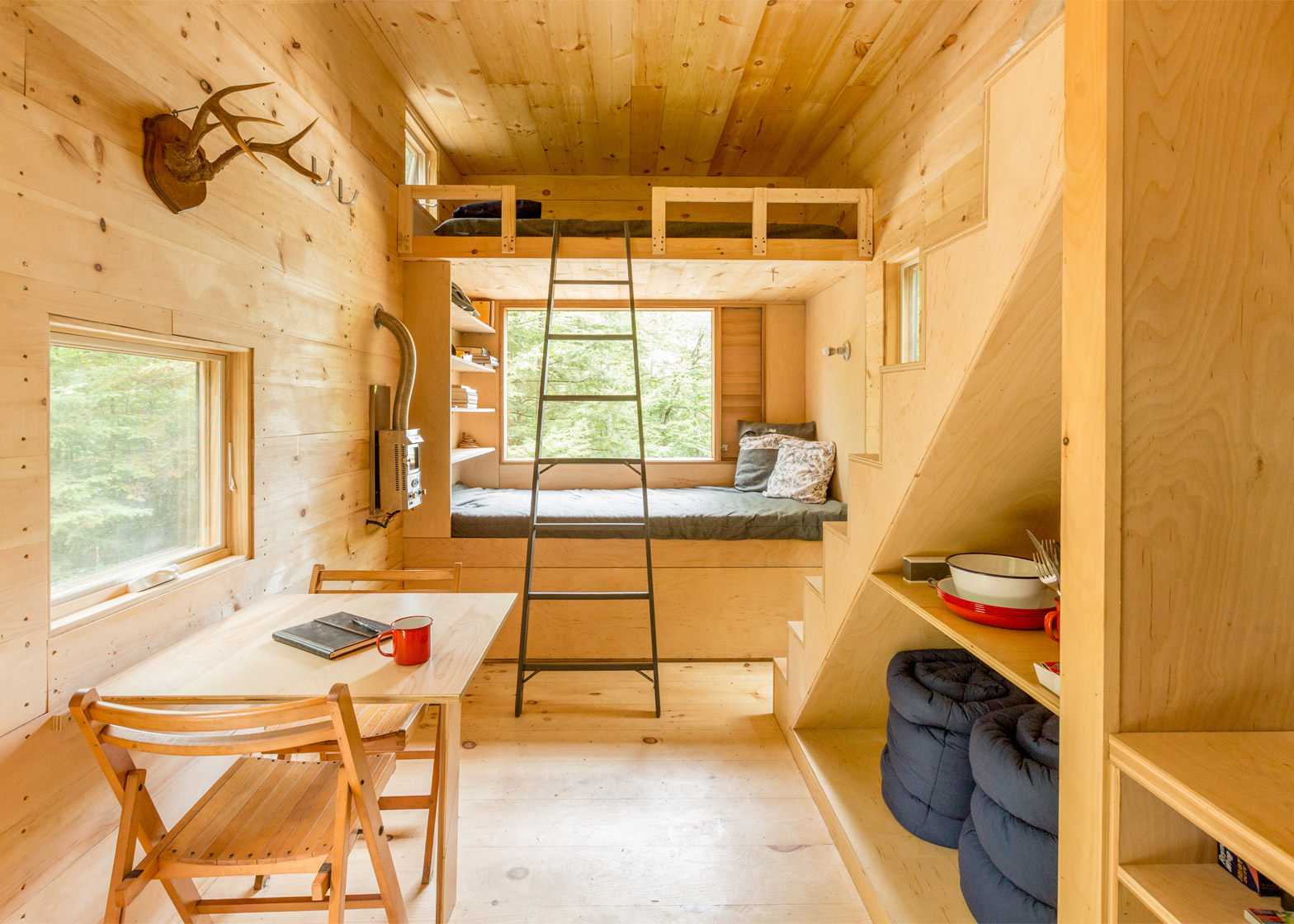 Harvard students create tiny vacation houses for stressed-out city dwellers