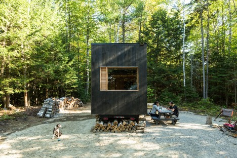 The Ovida Cabin near Boston