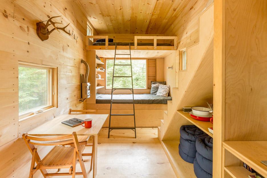 The Ovida Cabin near Boston