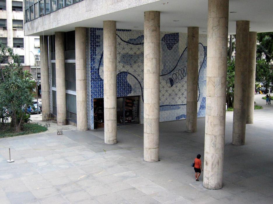 Palácio Gustavo Capanema by Lucio Costa, 1943