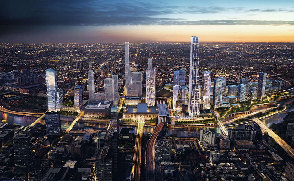 Philadelphia Masterplan by SOM