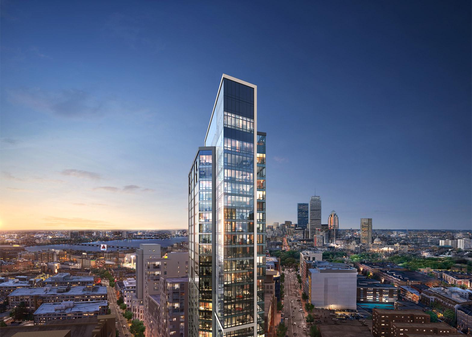 Pierce Boston by Arquitectonica