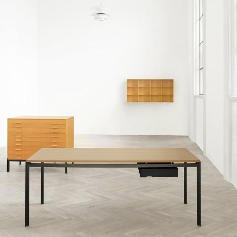 Poul Kjærholm's 1955 table designs to be rereleased by Carl Hansen & Søn