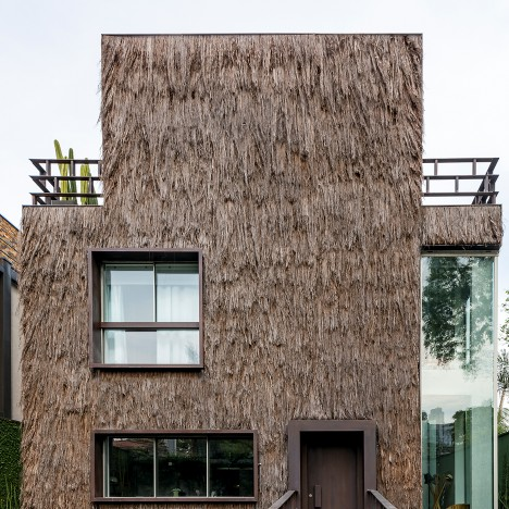 Campana brothers use palm fibre to give hairy texture to São Paulo house