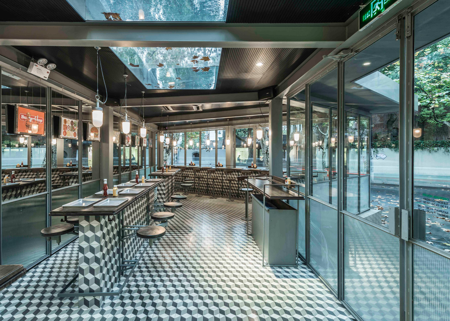 Rachel's Burger restaurant by Neri&Hu Rachel's Burger, Shanghai, China, by Neri&Hu Design and Research Office