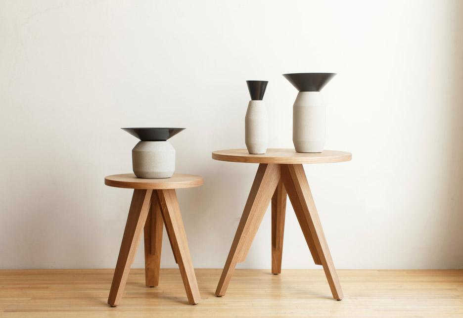 Radial vases by LaSelva