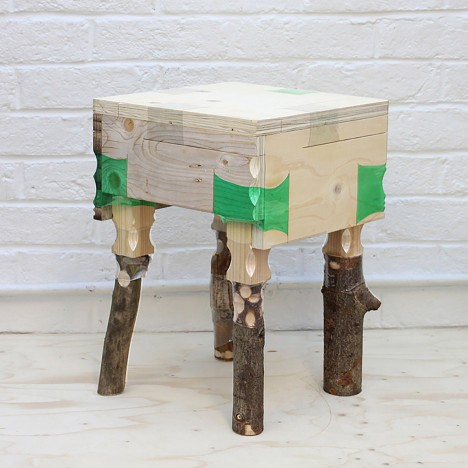 Micaella Pedros explains how to make furniture using discarded plastic bottles