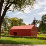 Red Barn by Roger Ferris and Partners provides an artist's retreat in Connecticut
