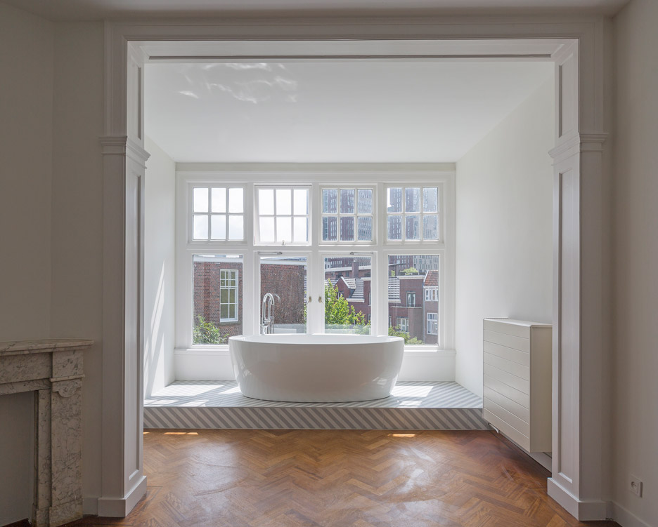 Antonia Reif renovates Dutch townhouse in the Hague