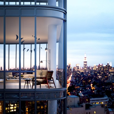 New images revealed of Renzo Piano's 565 Broome Soho tower in New York