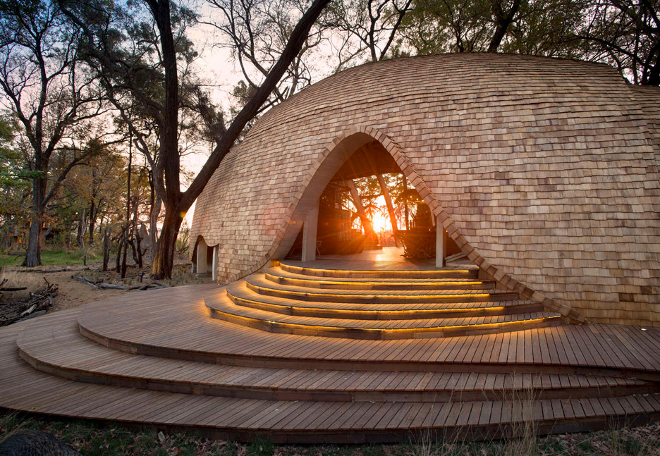Sandibe Okavango Safari Lodge in Botswana by Nicholas Plewman Architects and Michaelis Boyd