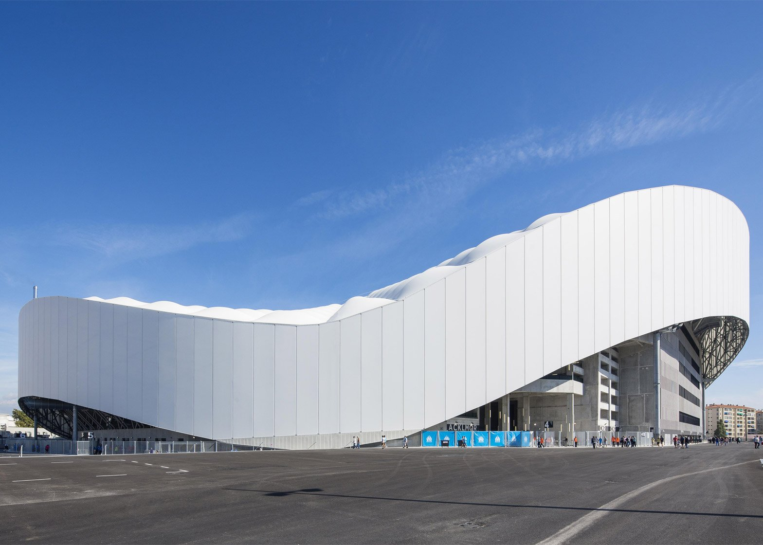 Stade Vélodrome in Marseille by SCAU