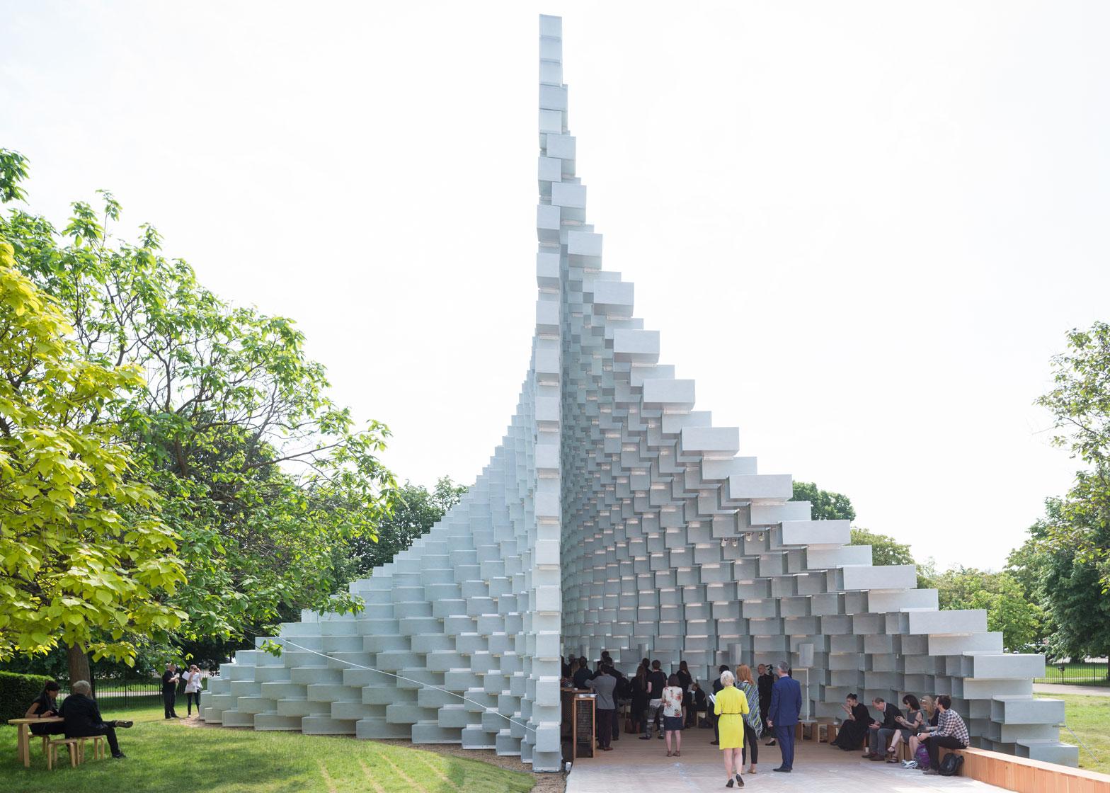 Serpentine Gallery Pavilion 2016 by Bjarke Ingels