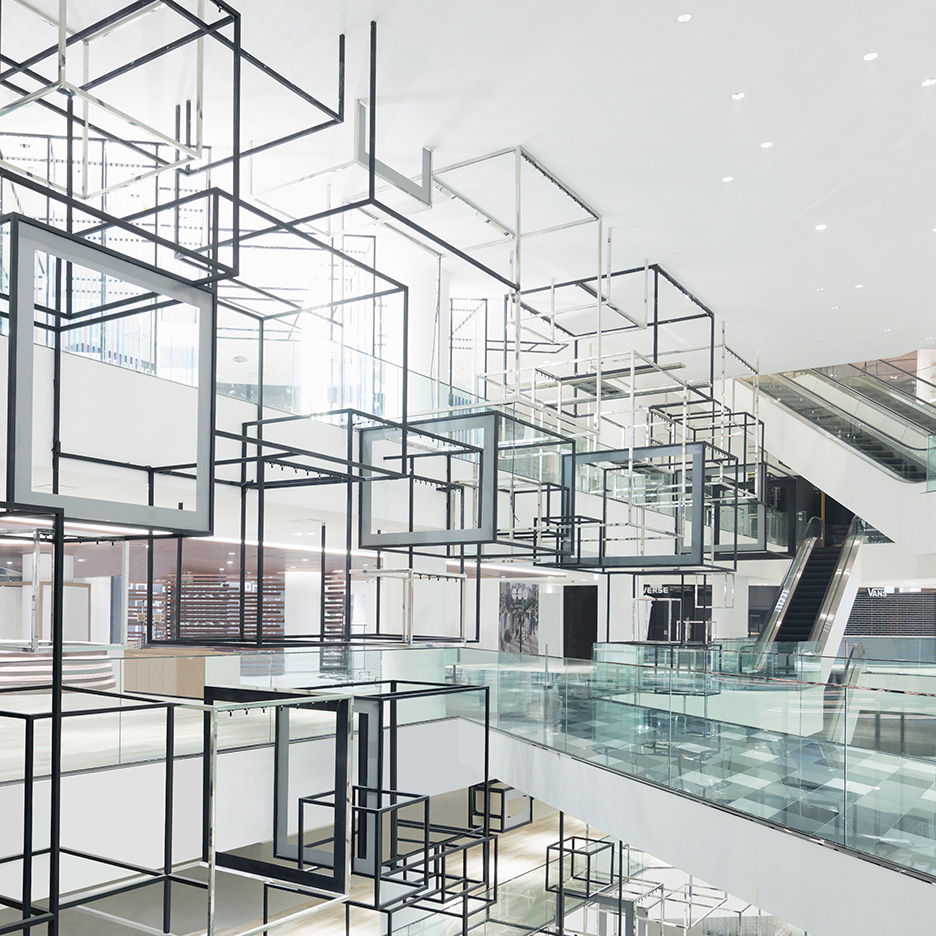 Siam Discovery shopping centre in Bangkok is Nendo's biggest ever project
