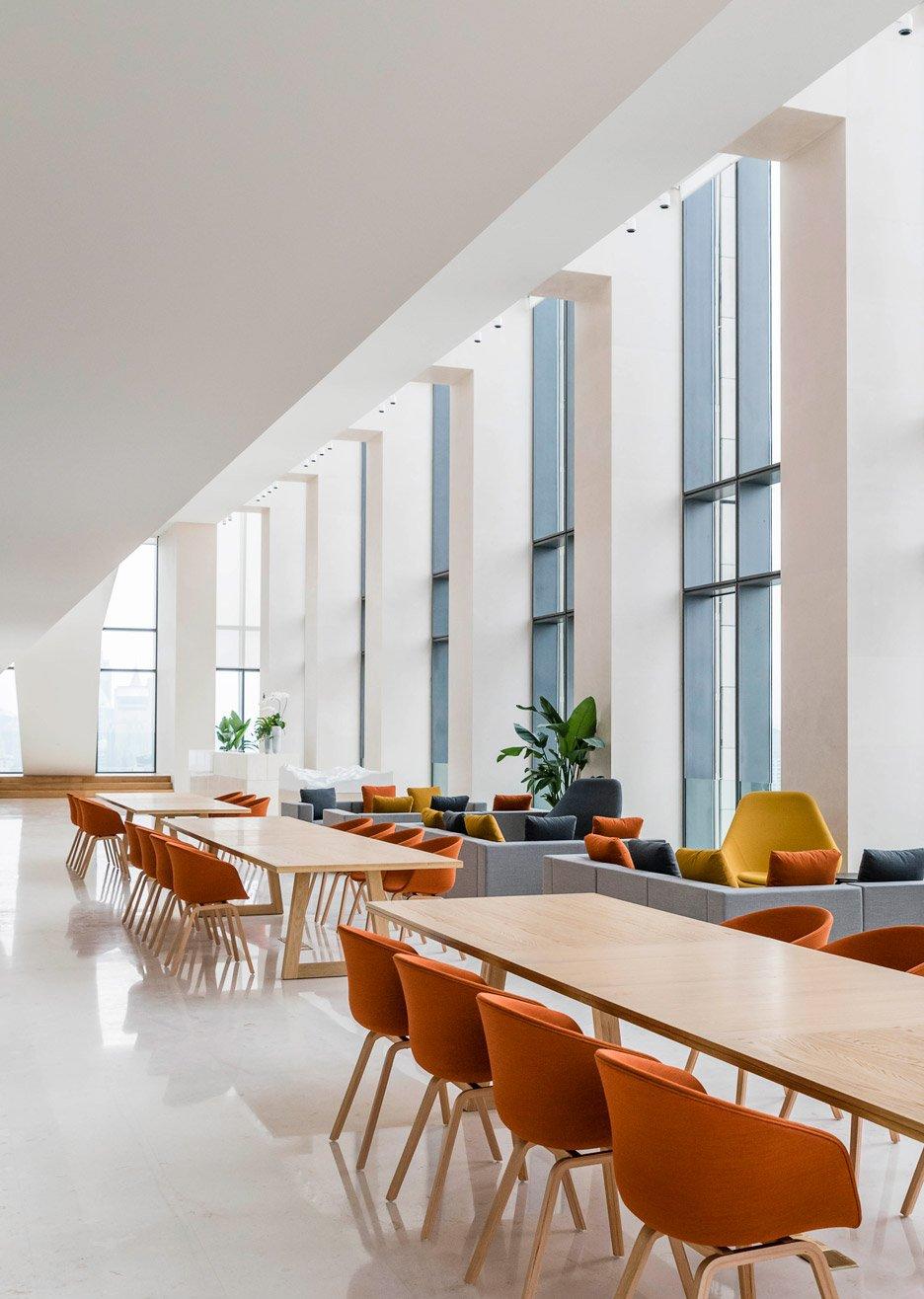 Aim Architecture designs timeless interior for Soho Bund in Shanghai