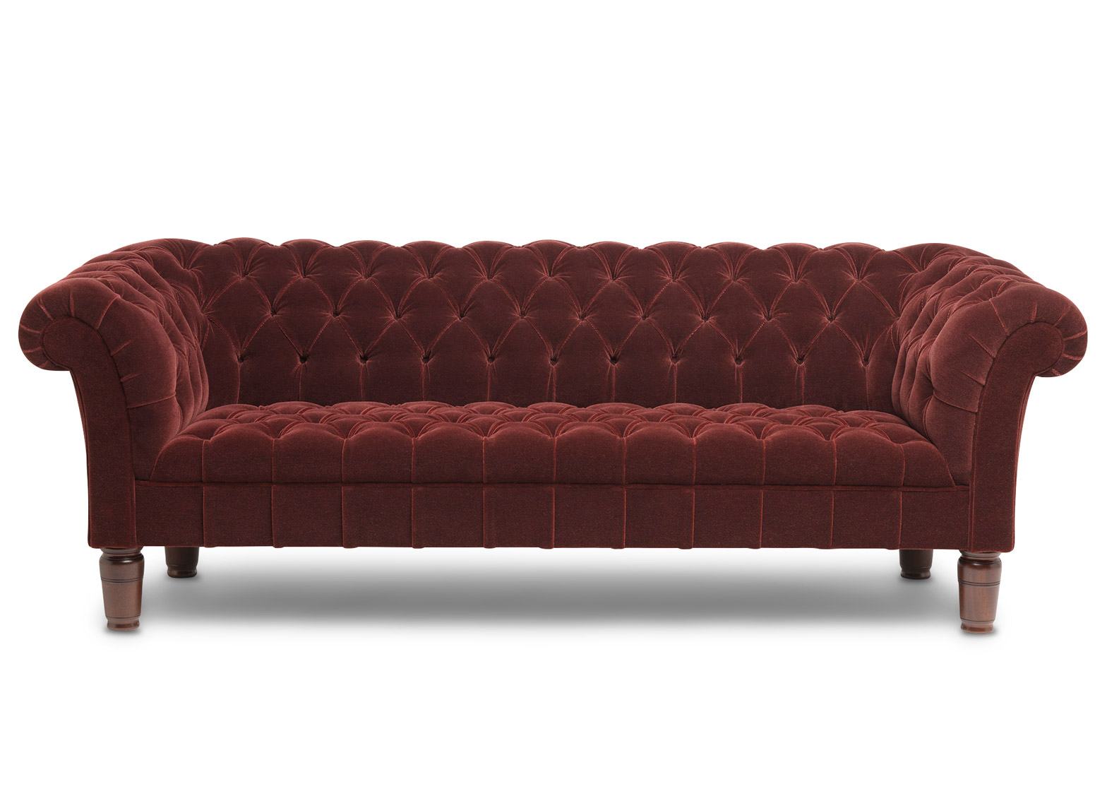 The Red Chesterfield Sofa from the Soho Home collection