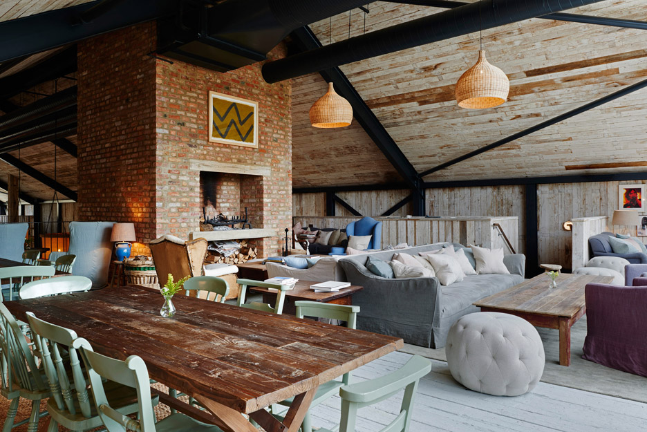 Soho House Farmhouse in Oxfordshire by Michaelis Boyd