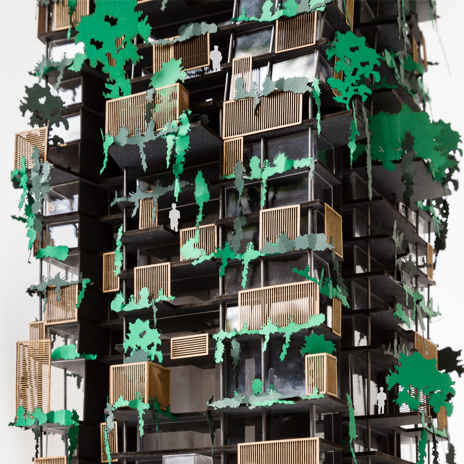 Triptyque proposes plant-covered Tropical Tower for São Paulo