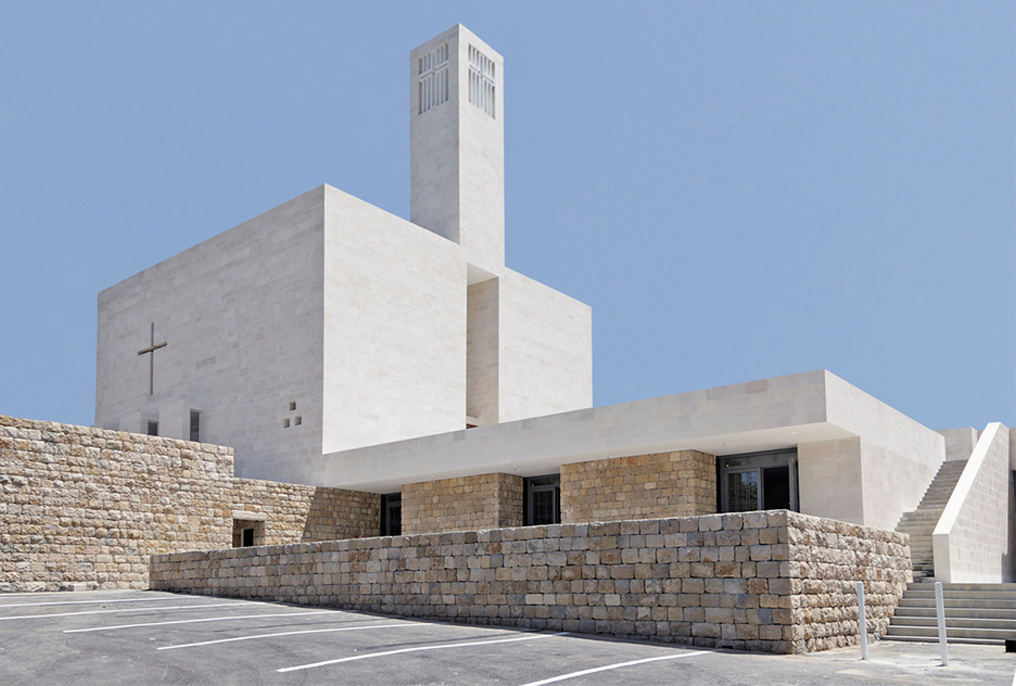 St-Elie Church by Maroun Lahoud