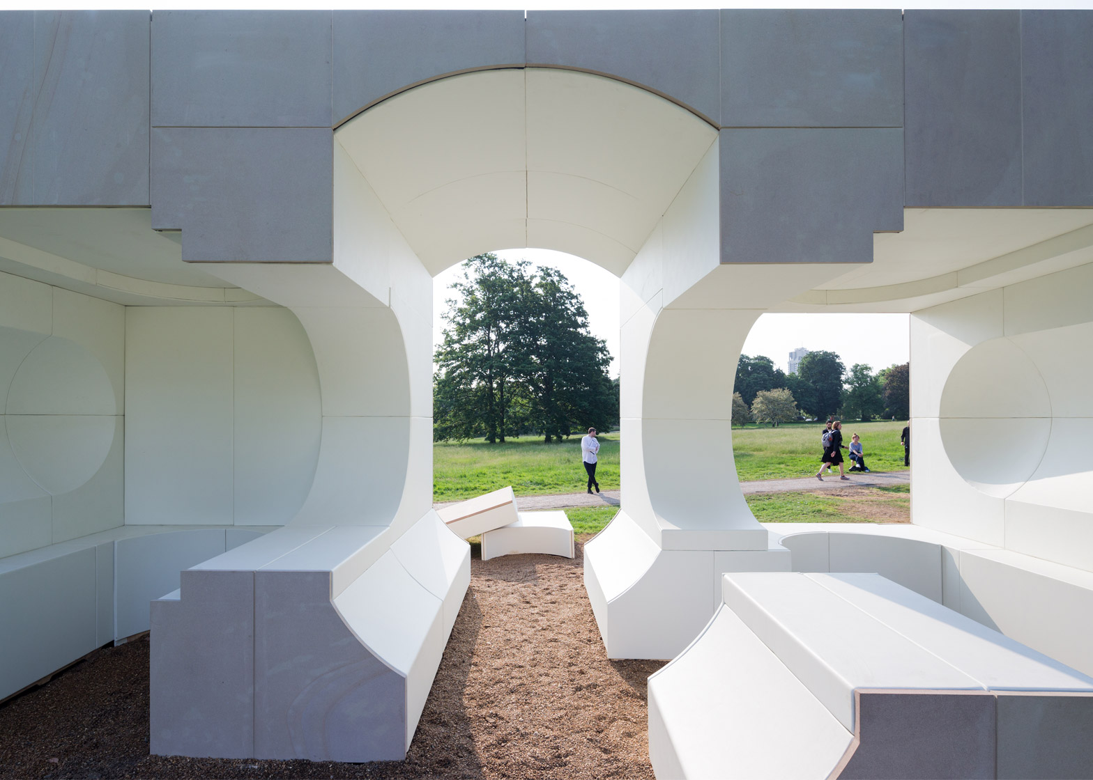 Serpentine Summer Houses put up for sale on The Modern House
