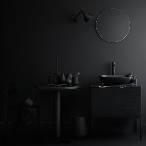 Fredrik Wallner designs block-coloured bathroom furniture for Swoon