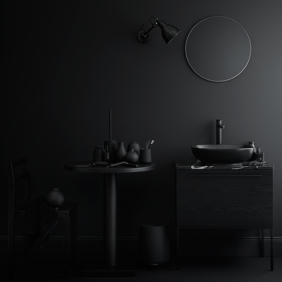 Fredrik Wallner's updated bathroom furniture collection for Swedish brand Swoon