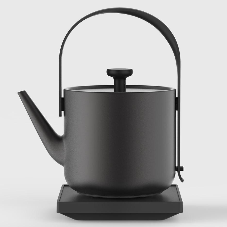 Teawith kettle by Keren Hu